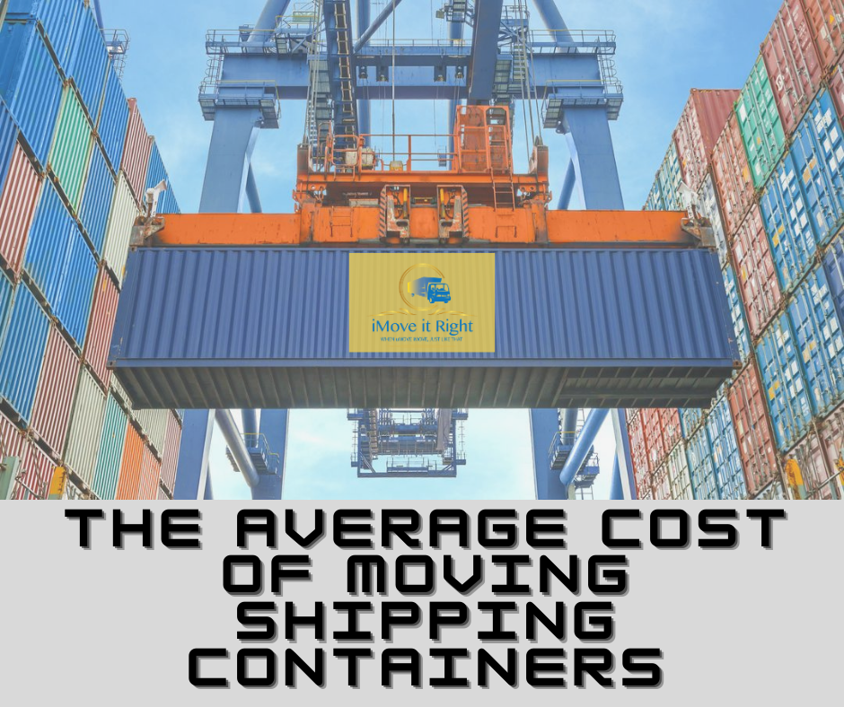 What is the average cost of moving shipping containers ...